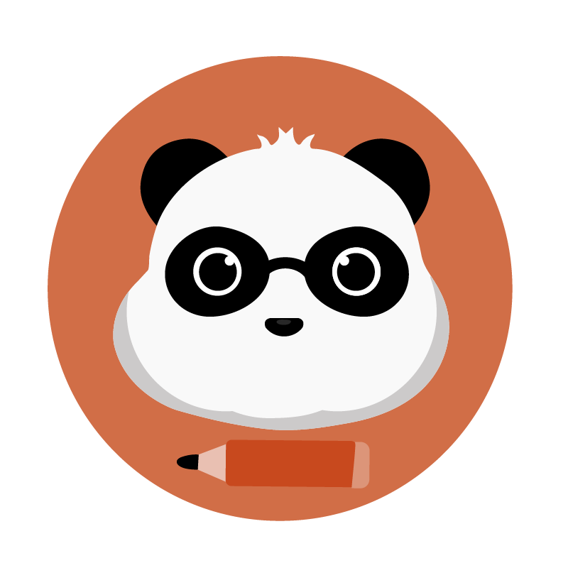 panda writing