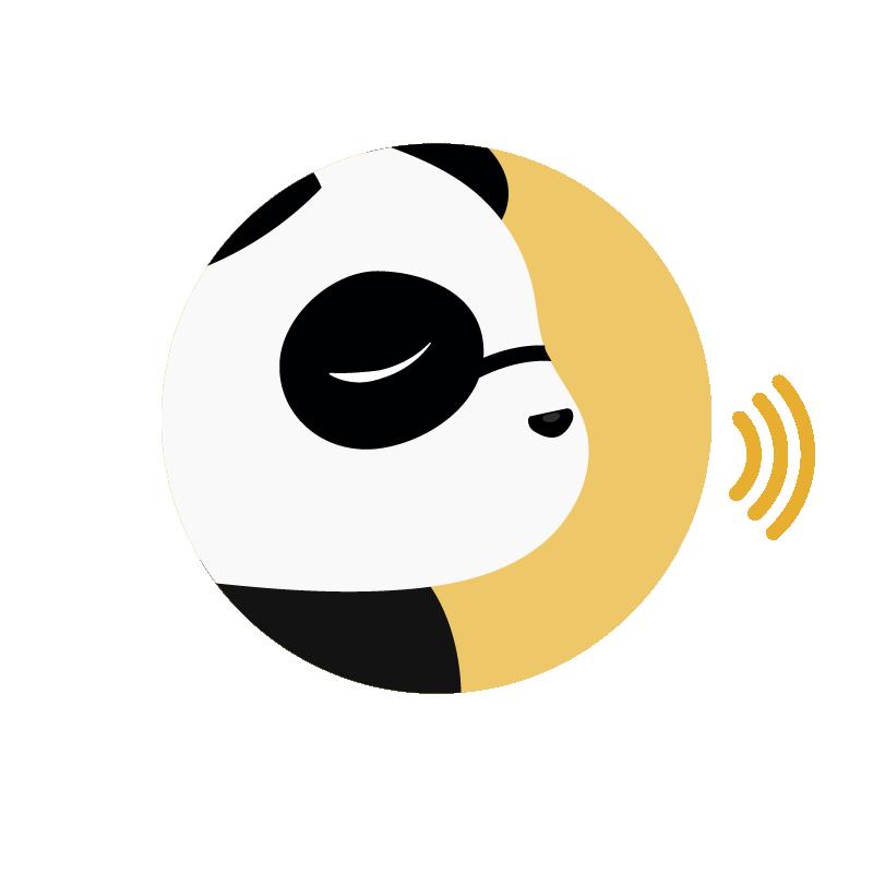 speaking panda amarillo