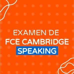 Examen de FCE Cambridge Speaking